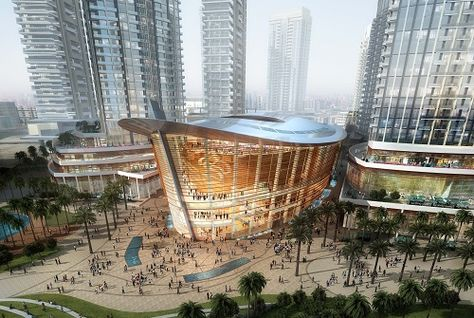 Emaar says planning spectacular opening for Dubai Opera