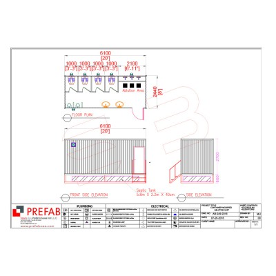 20' CONTAINER ABLUTION UNIT