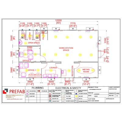 FLOOR PLAN Container Unit