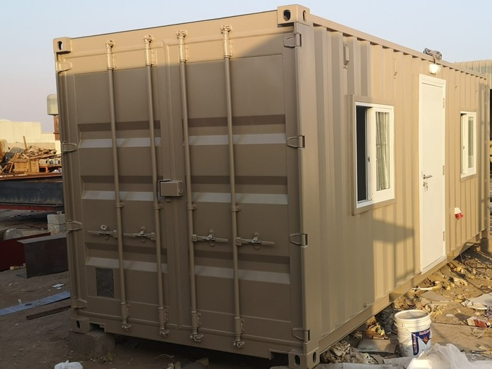 Modified Container Office