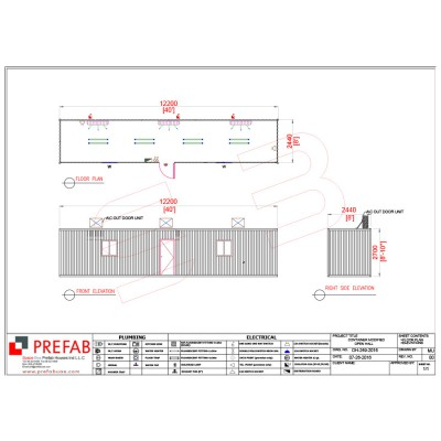 40' CONTAINERIZED OPEN HALL